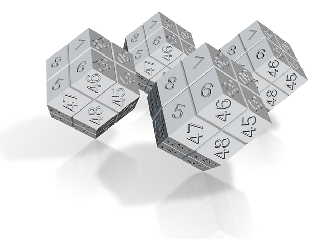 4 Player Start Order Die - 4 Pack 3d printed