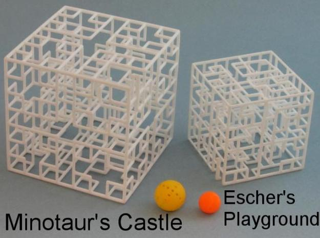 Minotaur's Castle 3d printed New larger size