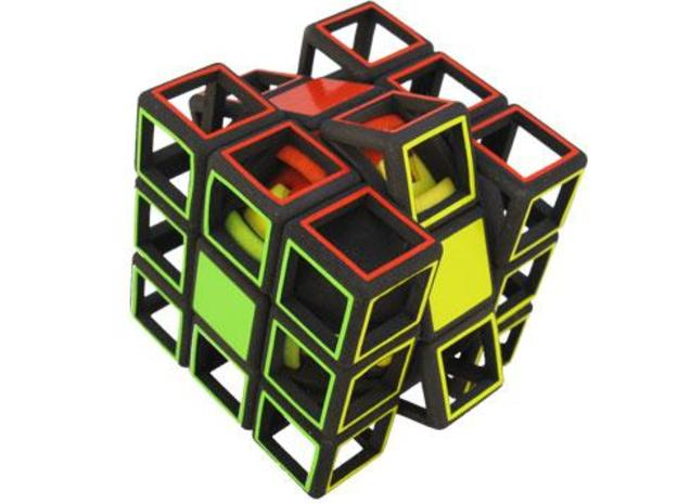 Slice Gear Cube 3d printed Slice move
