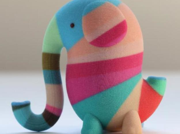 Elephant Love MultiColor 3d printed