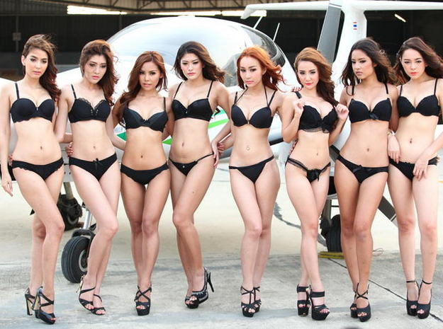 Zai , FHM Girls Next Door Finalists 2014 3d printed