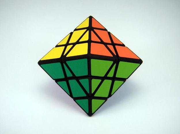 Pentamid Puzzle 3d printed Equatorial Vertex View