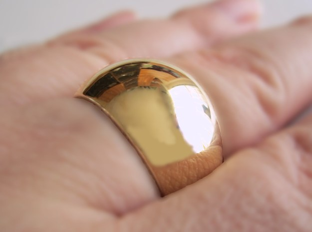 Sphere Ring v2 3d printed Add a caption...