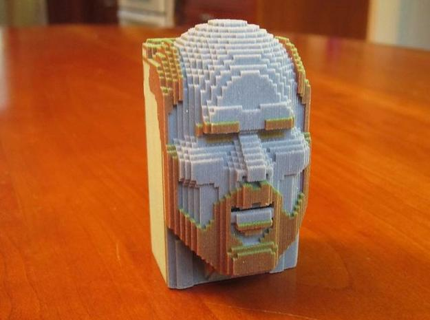 Temple of Notch 1 mm 3d printed