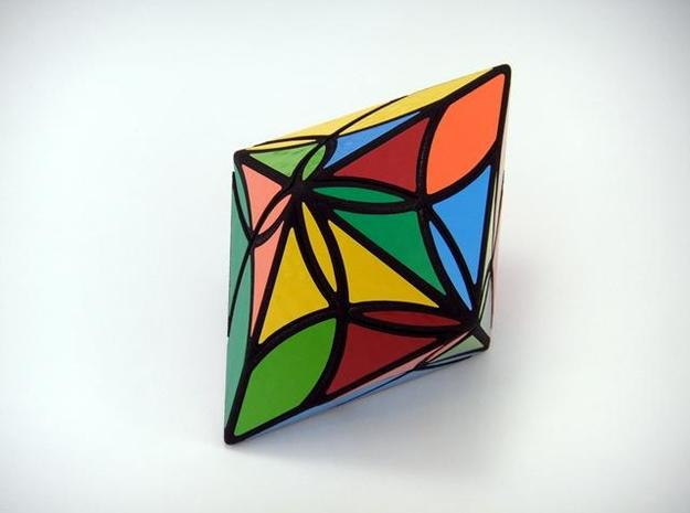 Diamond Delight Puzzle 3d printed Multiple Turns