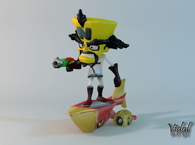 Neo Cortex on his Ship - Crash Twinsanity - 100mm