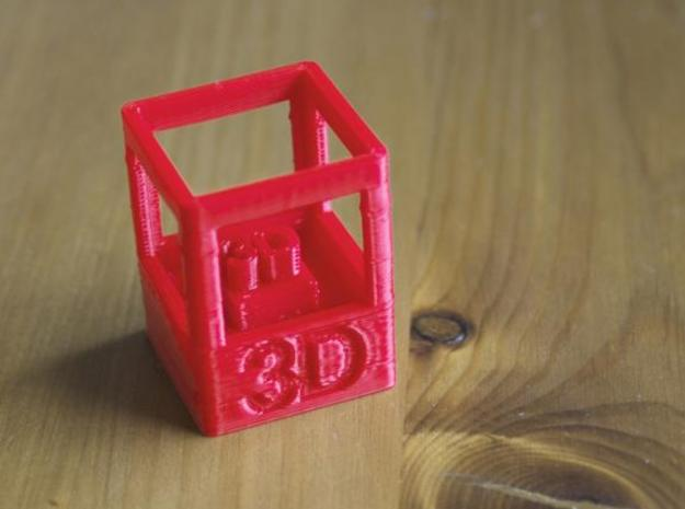 Printable 3D Skill Badge by The New Hobbyist 3d printed