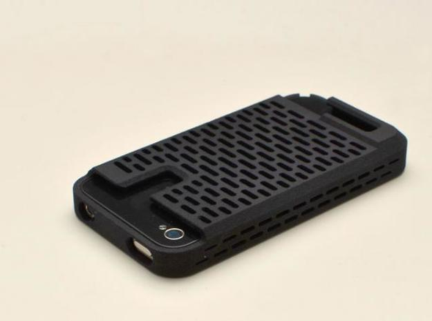 iphone4 & iphone4s case for your card & usb drive 3d printed tough & functional