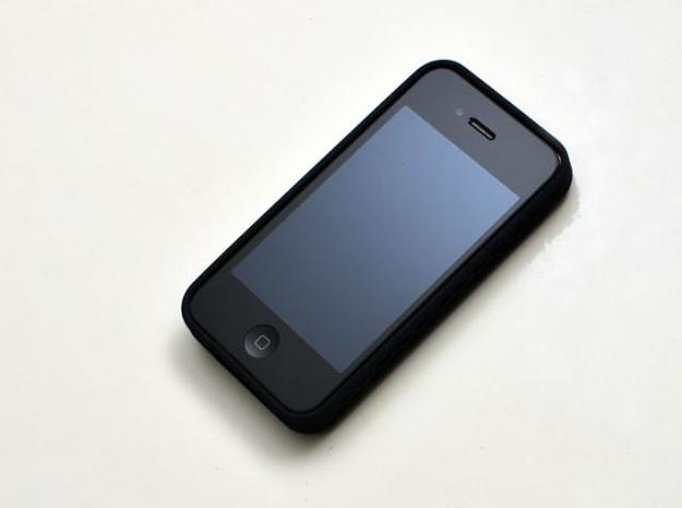 iphone4 & iphone4s case for your card & usb drive 3d printed clean front