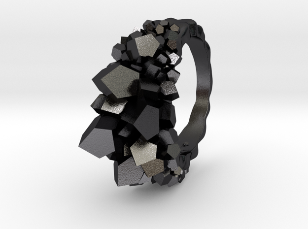 Crystal Ring size 7 3d printed