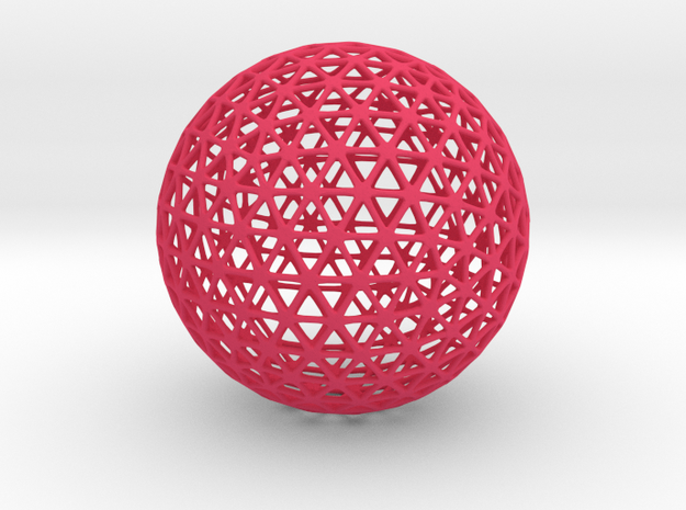 Geodesic Frame ds cc 75mm 3d printed