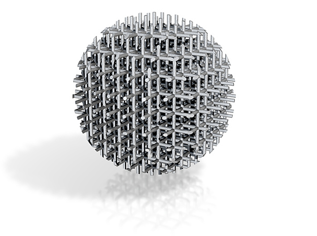 Mesh Acupuncture Ball 3d printed