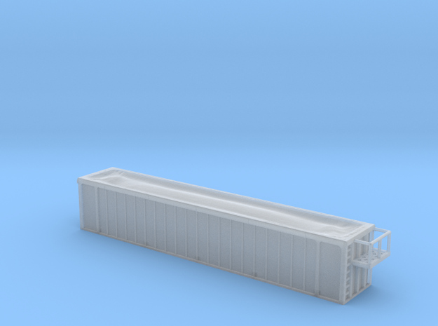 Trash Gondola 48foot - Zscale 3d printed
