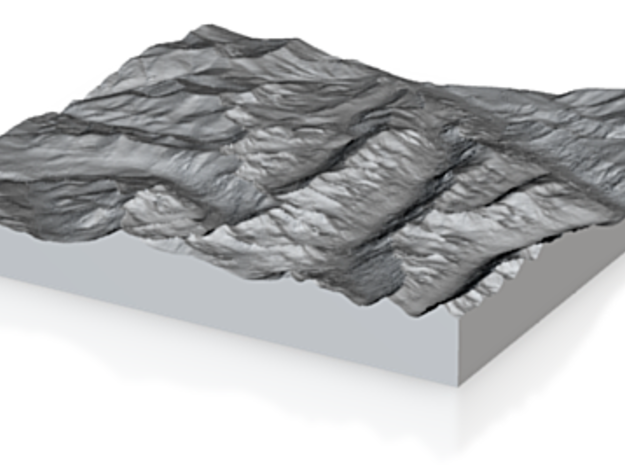 Model of Unknown Location 3d printed