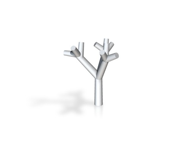 Test Tree - Zscale - 0.5 inch 3d printed