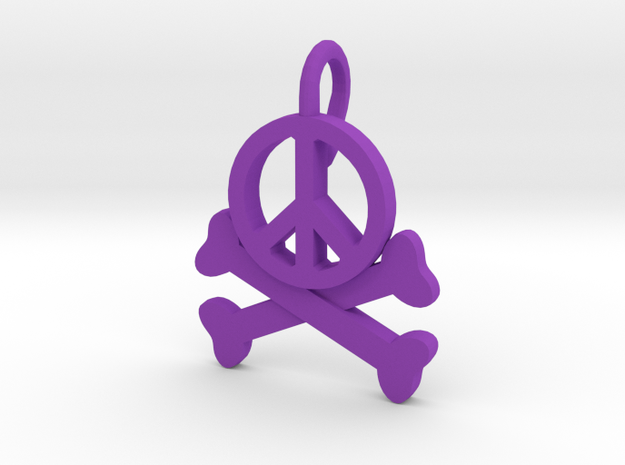 Homicidal Pacifist - Small 3d printed