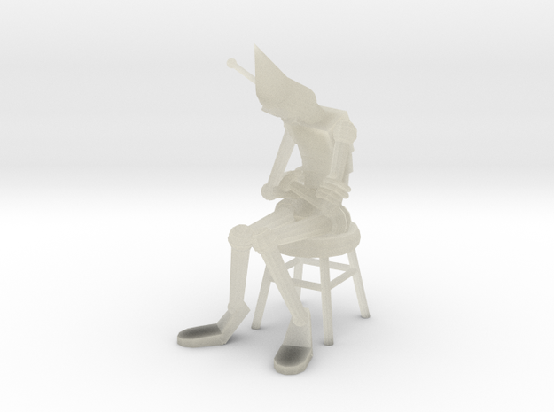 Dunce Robot 3d printed