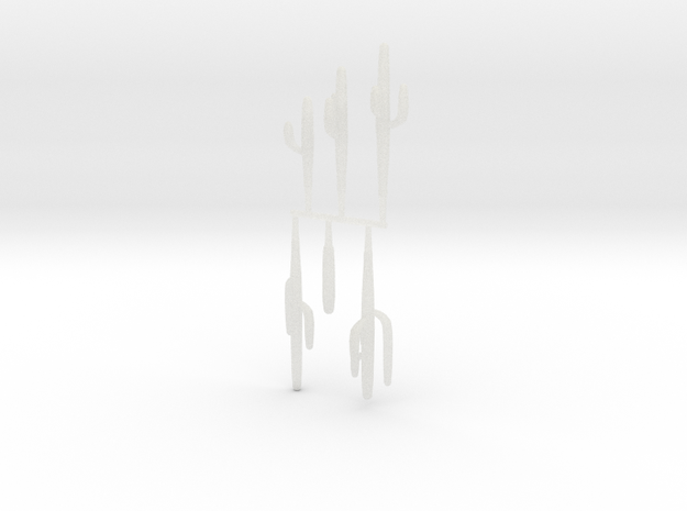Z Scale Saguaro Collection 02 3d printed