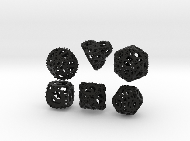 Static Gear Die Bundle (Resized) 3d printed