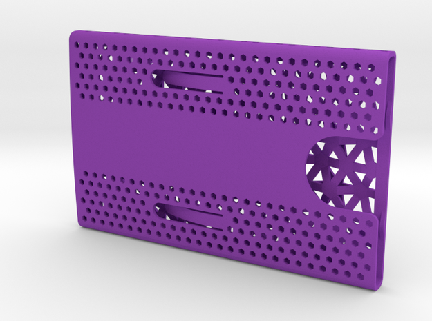 Business card case - CUSTOMIZE! 3d printed