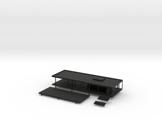 Modernist House 3d printed