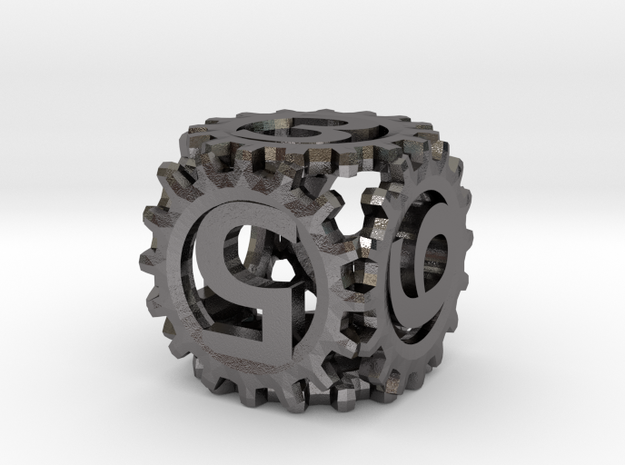 Static Gear Die (D6) 3d printed