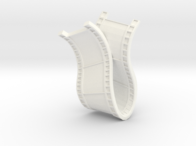 Film Necklace 3d printed