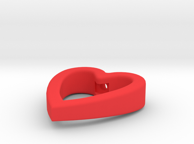 Cord Pull Heart 3d printed
