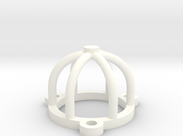Tube or Valve Cage Protector birdcage 3d printed
