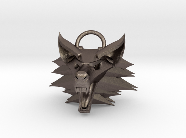 The Witcher pendant 3d printed
