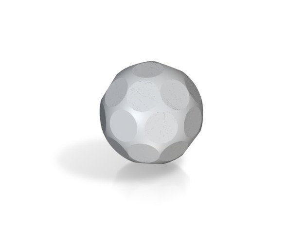 D33 Sphere Dice (prototype) 3d printed Add a caption...