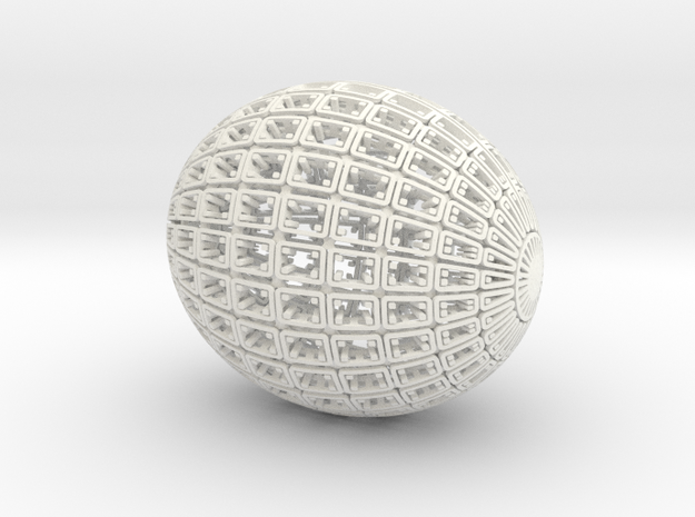 Clutch (Colloidal Vessel 120810) 3d printed
