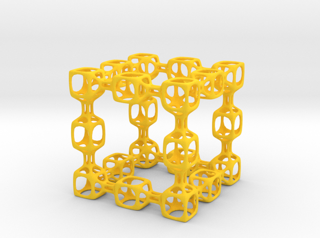 Spongy Cube 3d printed