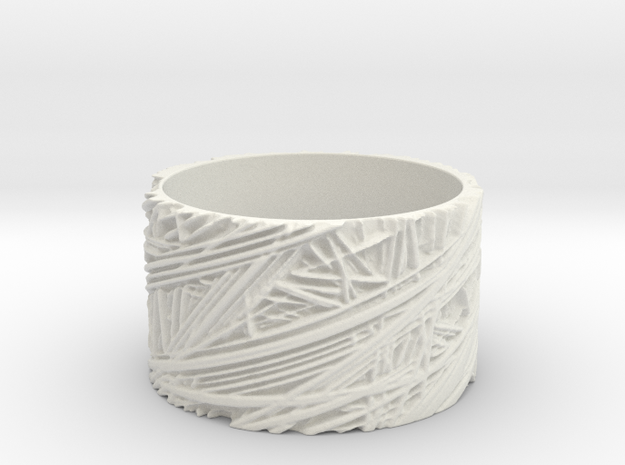 Fibres Ring Size 8 3d printed
