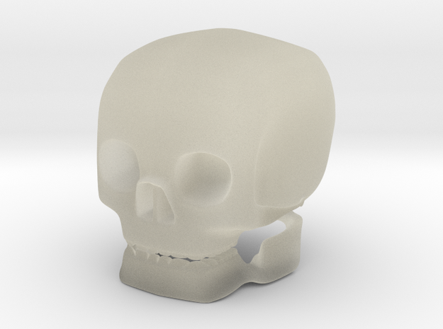 skull solid 3d printed