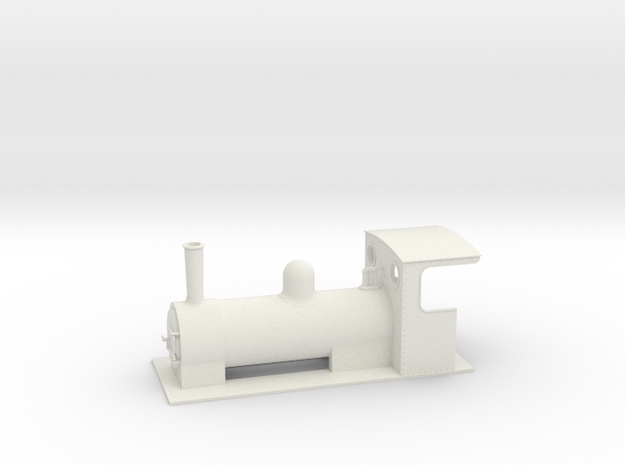 On16.5 colonial style tender loco 2 3d printed