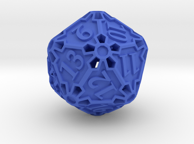 Spindown Huge Die20 3d printed