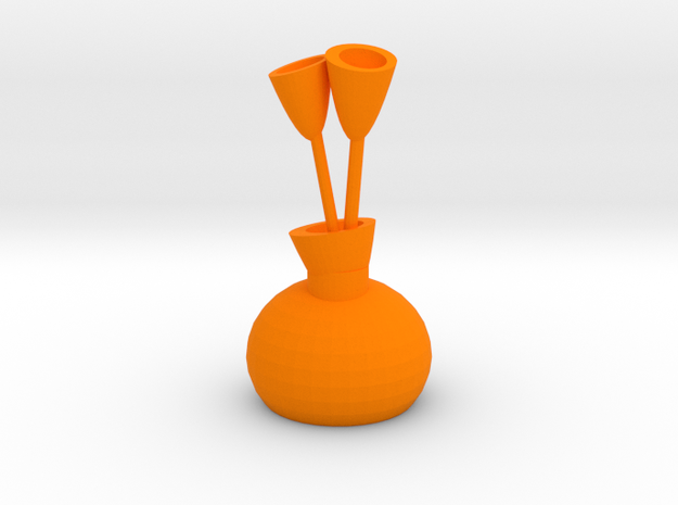 Vase Of Tulips 3d printed