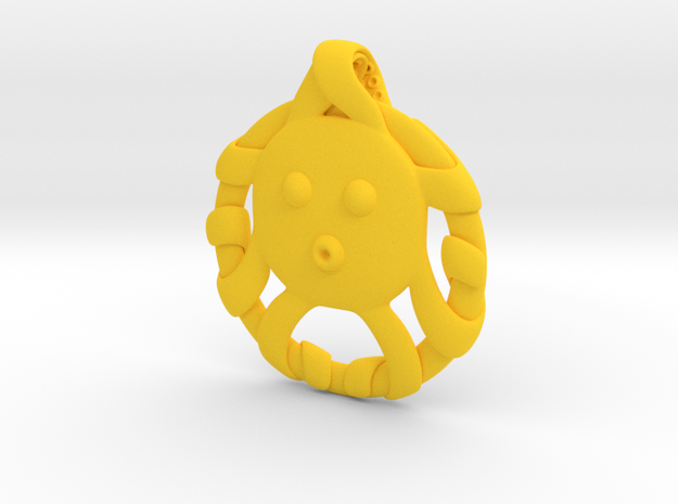 Cute Octopus Pendant 3d printed