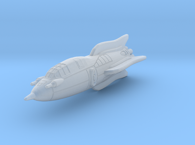 Terran Battle Rocket Arion 3d printed