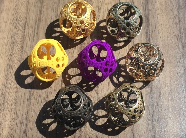 Apollonian Octahedron Mini 3d printed Choose your favorite!