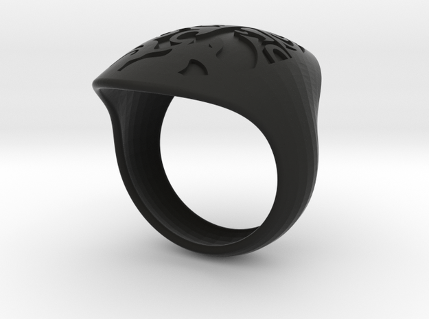 face recessed size 8 3d printed