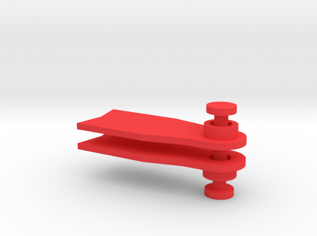 Minifig Apnoe Fins without blade angle 3d printed