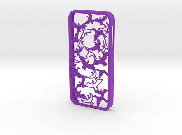 Birds Silhouette iPhone5/5s Case 3d printed Birds Silhouette iPhone5/5s Case in coral red