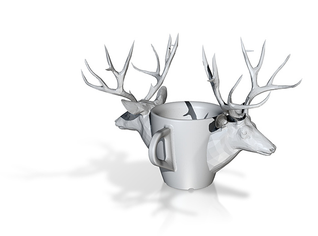 one cup a day | Day 25: Deer Cup 3d printed