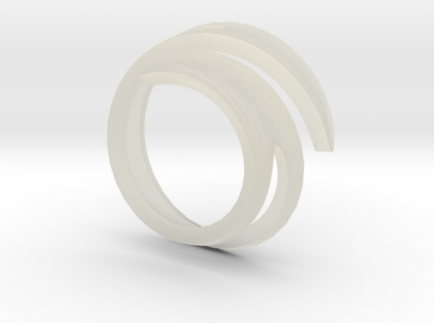 wrapped ring 3d printed The real thing! Wrapped ring