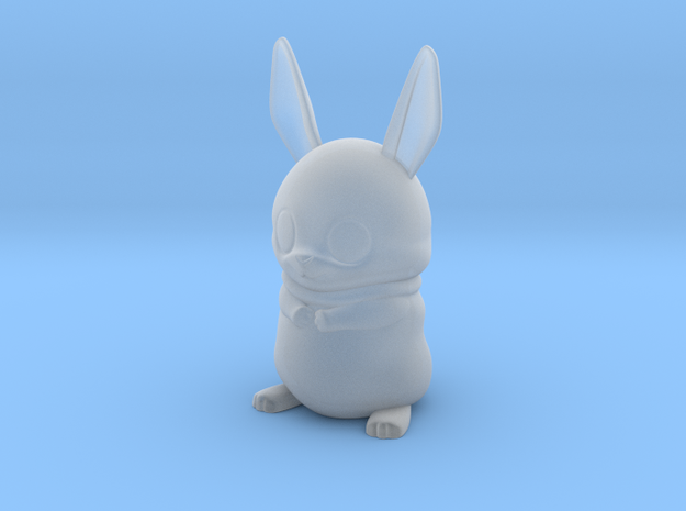 bowie the bunny 3d printed