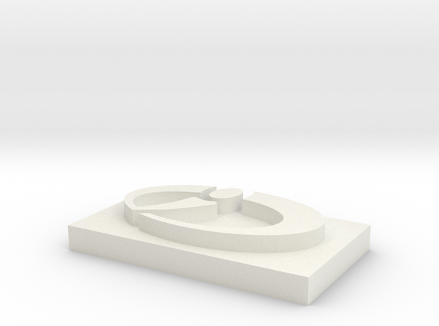 CCI Logo for Cufflink (attn Joris) 3d printed