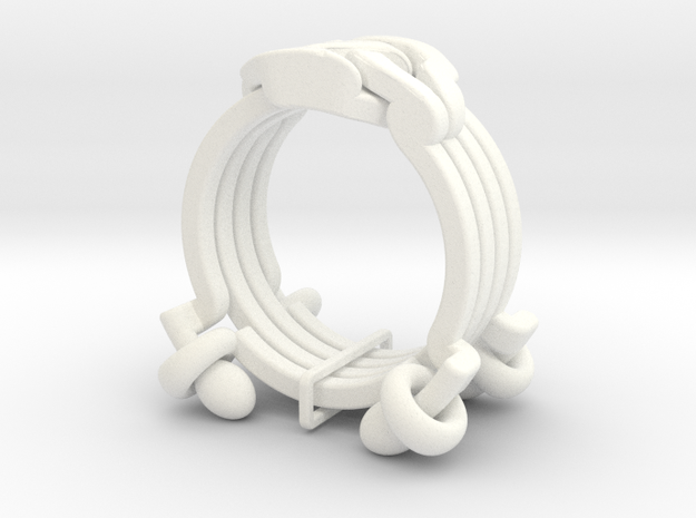 Cross Rings 3d printed