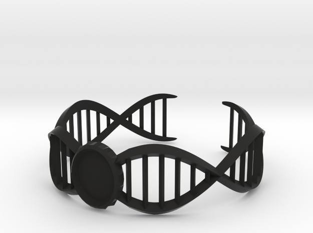 DNA Bracelet -v2 Large (10cm) 3d printed
